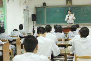 沈明信老師首先讓同學們了解中國兩河流域的文明